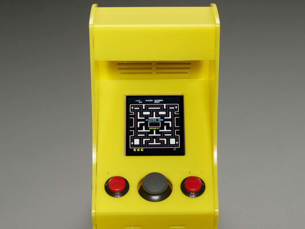 Cupcade: the Raspberry Pi-Powered Micro Arcade Cabinet Kit