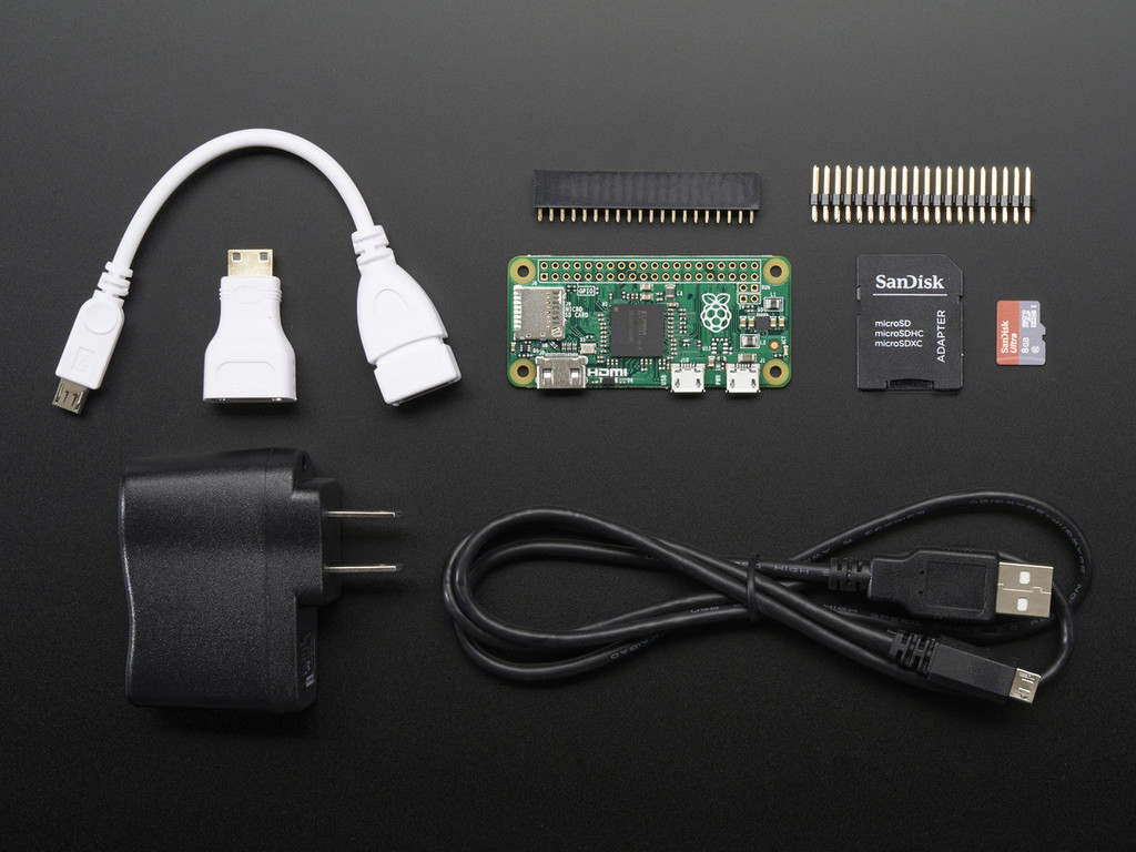 Raspberry Pi Zero Budget Pack with Raspberry Pi Zero computer