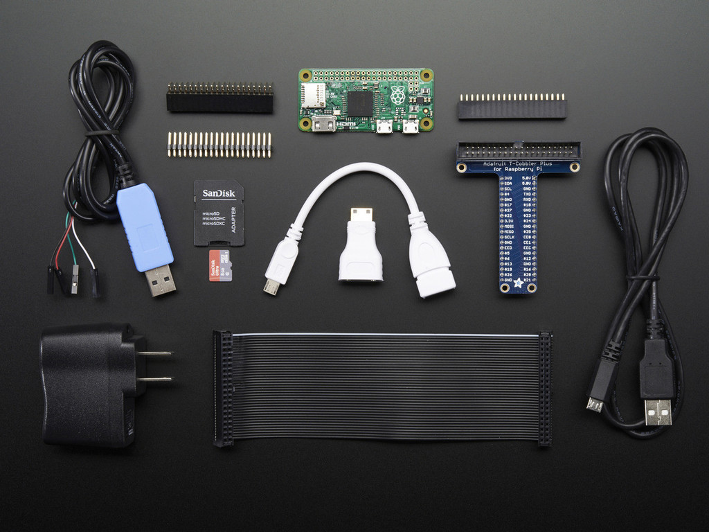 Raspberry Pi Zero Starter Pack with Raspberry Pi Zero computer