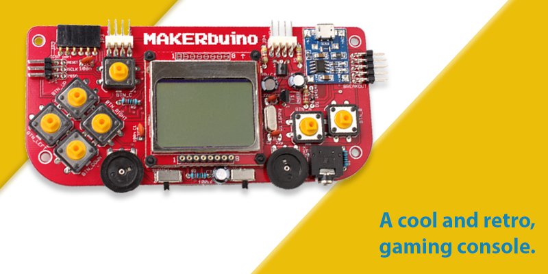 MAKERbuino – The coolest gaming console.